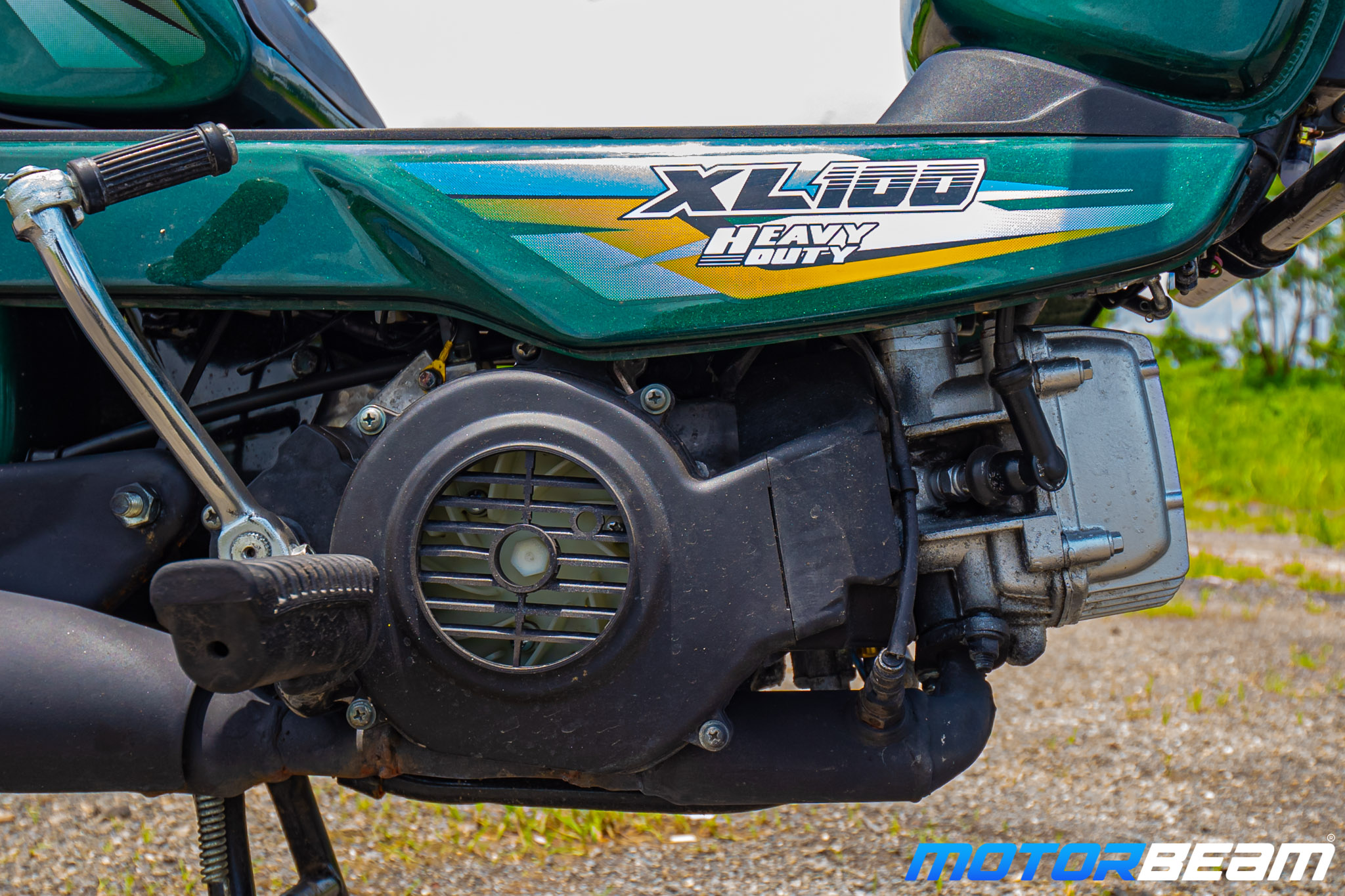 TVS XL 100 Heavy Duty Review 9