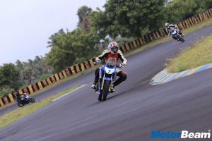 TVS Young Media Racer Round 1