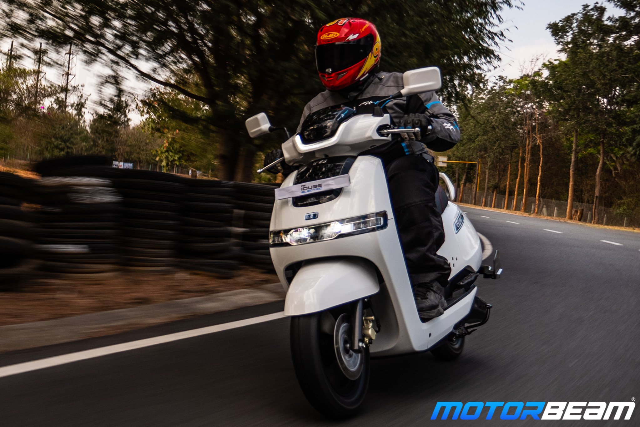 TVS iQube Electric Test Ride Review
