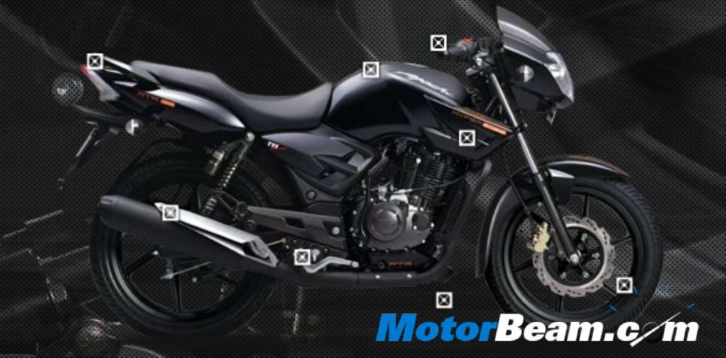 Tvs apache rtr 160 hyper edge launched