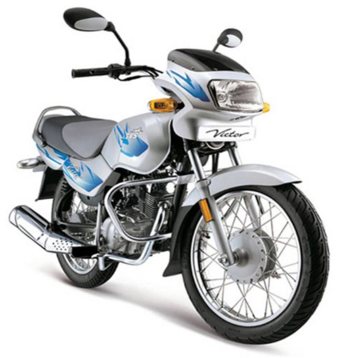 2011 TVS Victor Re-Launch In India