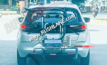 Tata Altroz CNG Spied