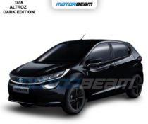 Tata Altroz Dark Edition Rendered