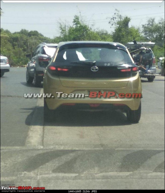 Tata Altroz Spotted Specifications