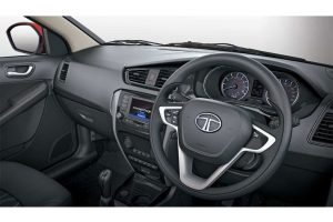 Tata Bolt Dashboard