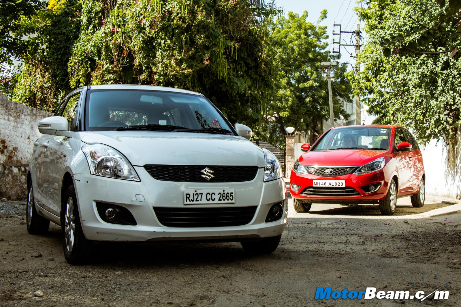Tata Bolt vs Maruti Swift Comparison