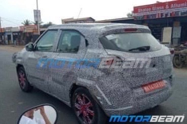 Tata H2X Spotted