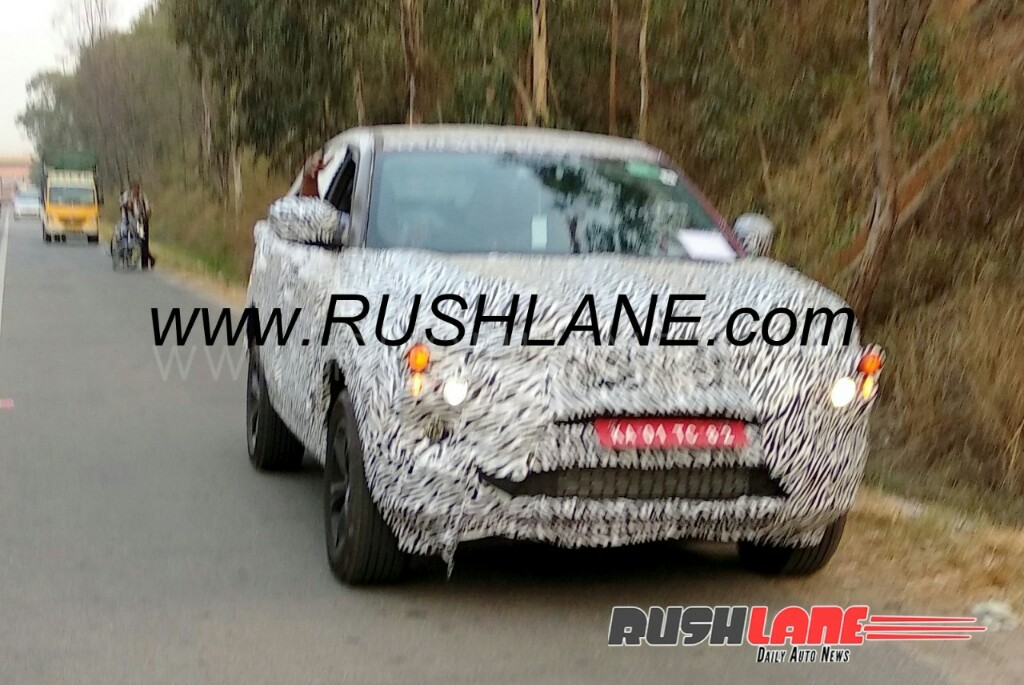 Tata H5 Spotted On Test