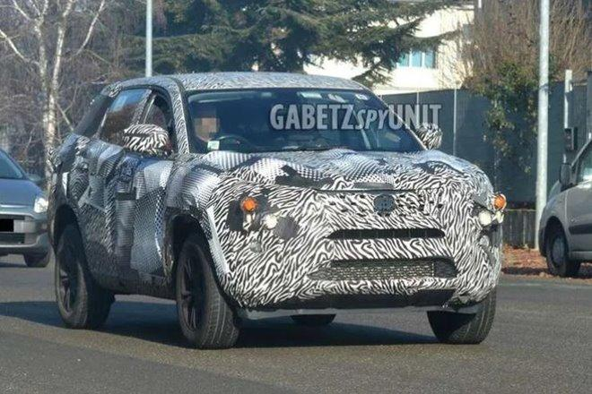 Tata H7X Front Spied