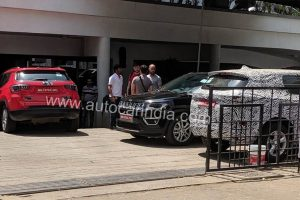 Tata Harrier BS6 Ready Diesel Engine Spied