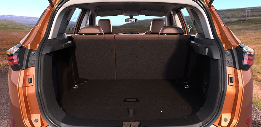 Tata Harrier Boot Space