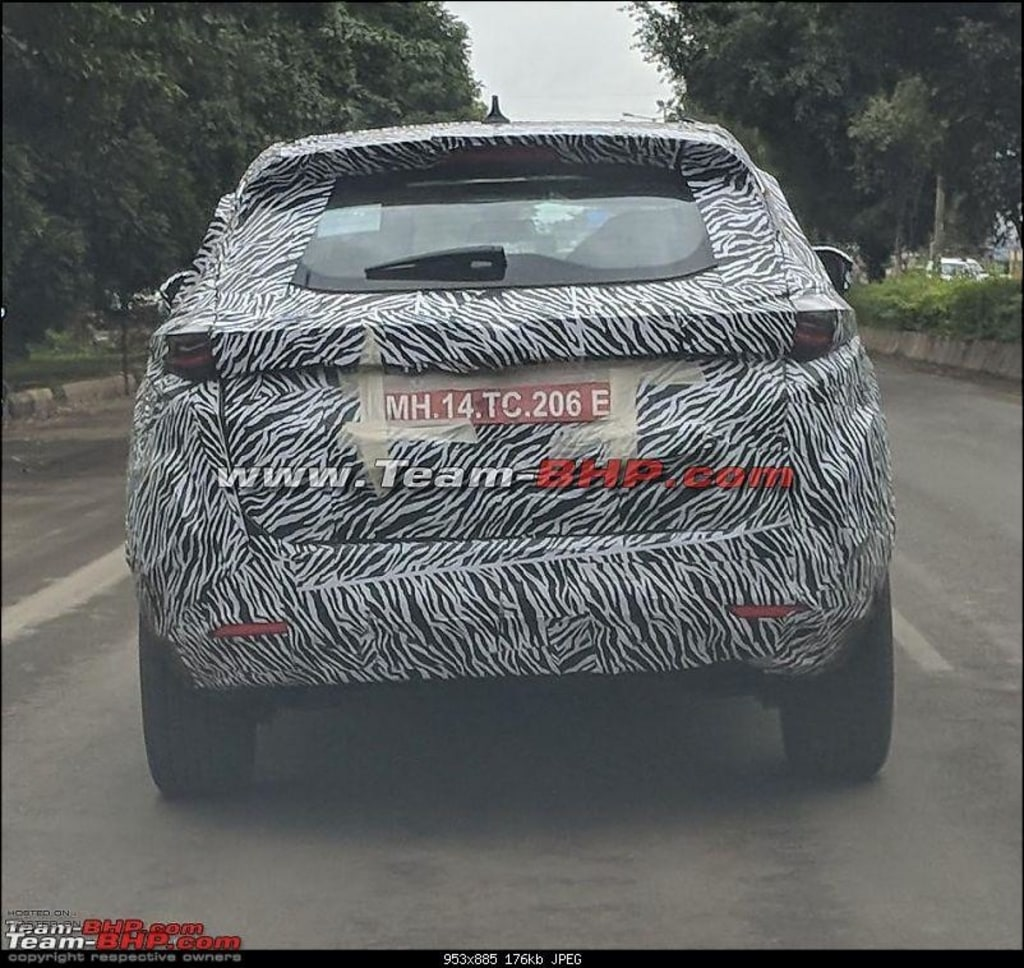 Tata Harrier India Spotted
