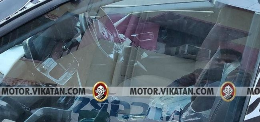 Tata Harrier Interiors Spied