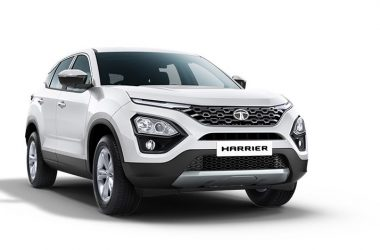 Tata Harrier Orcus White