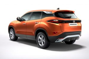 Tata Harrier Rear Profile