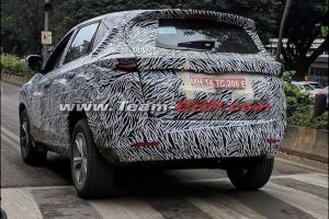 Tata Harrier Spotted India