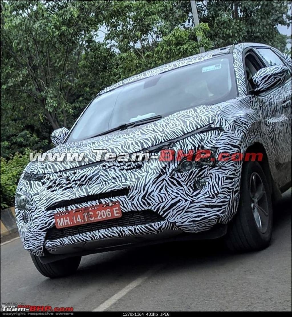 Tata Harrier Spotted