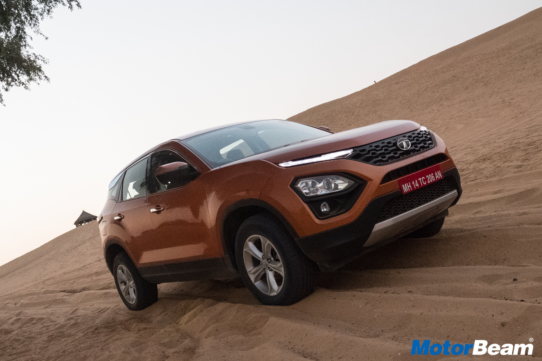 Tata Harrier Test Drive
