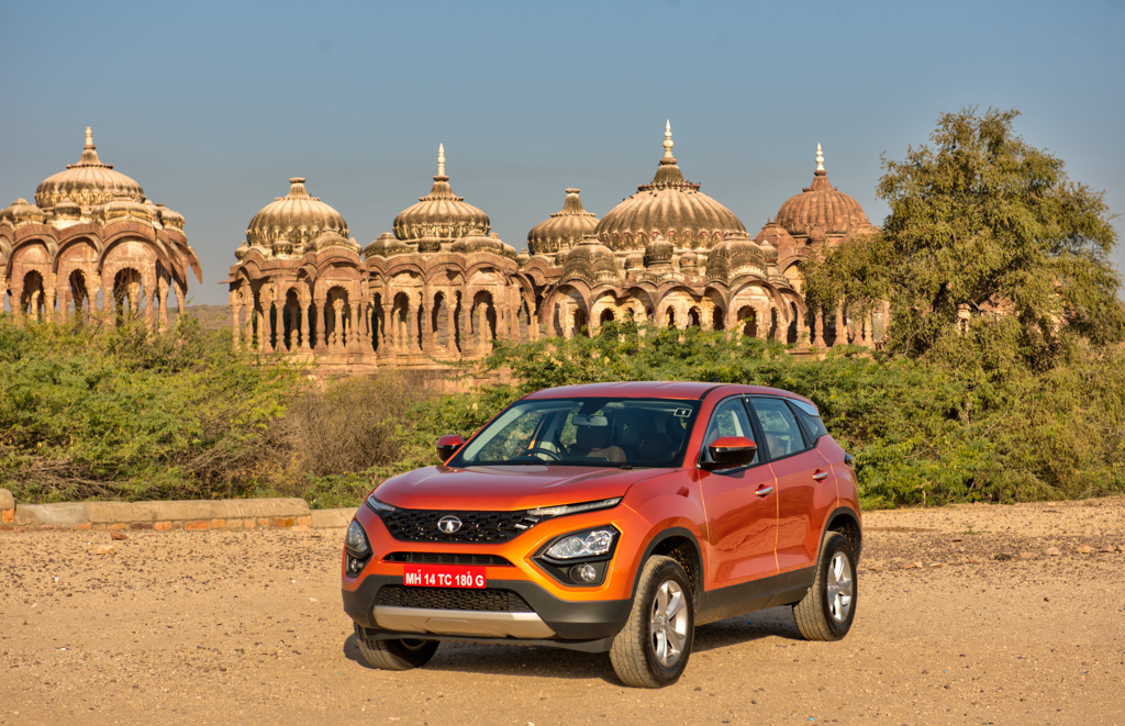 Tata Harrier Styling