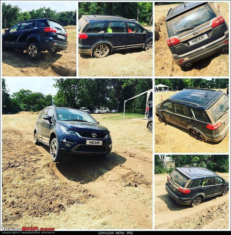 Tata Hexa Off-Road