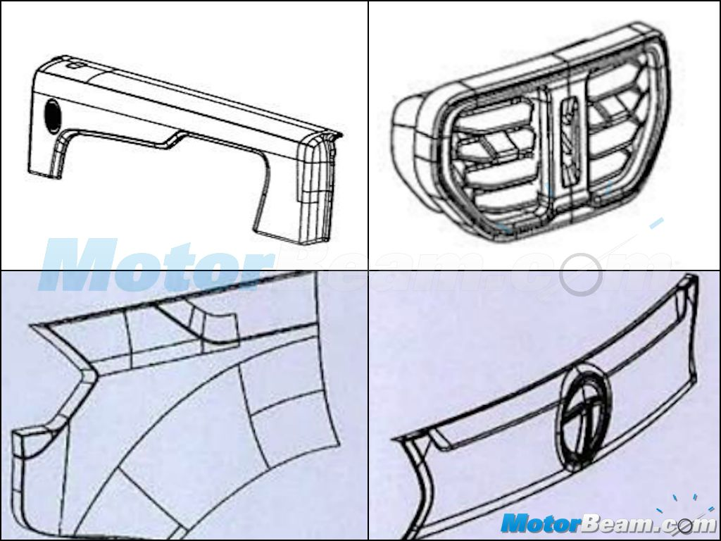 Tata Hexa Patents Door Trims