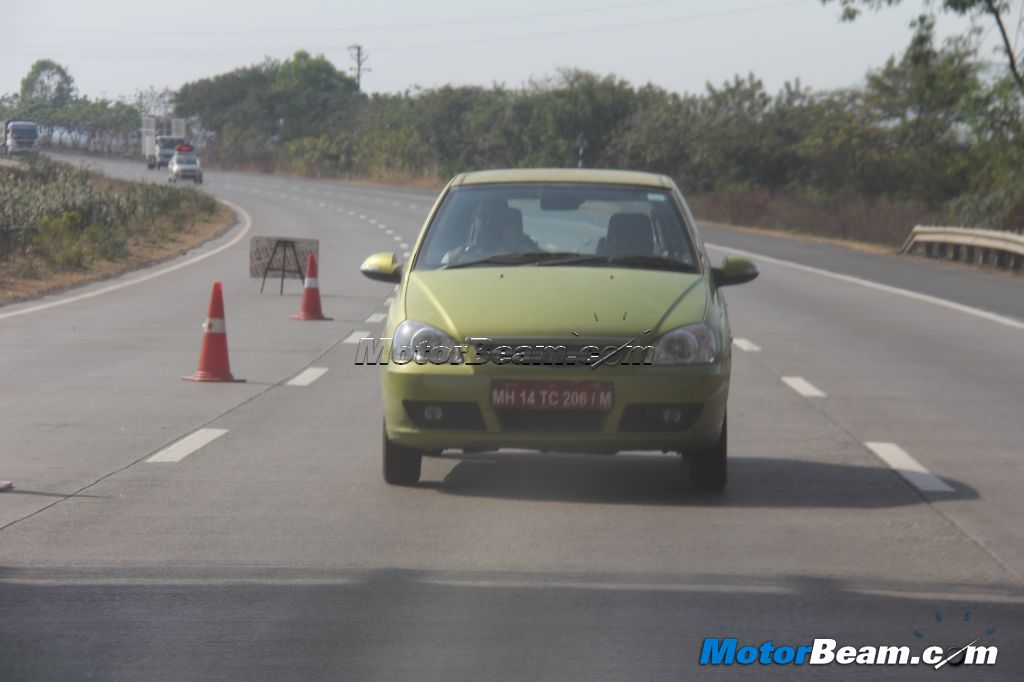 Tata Indica Spy front