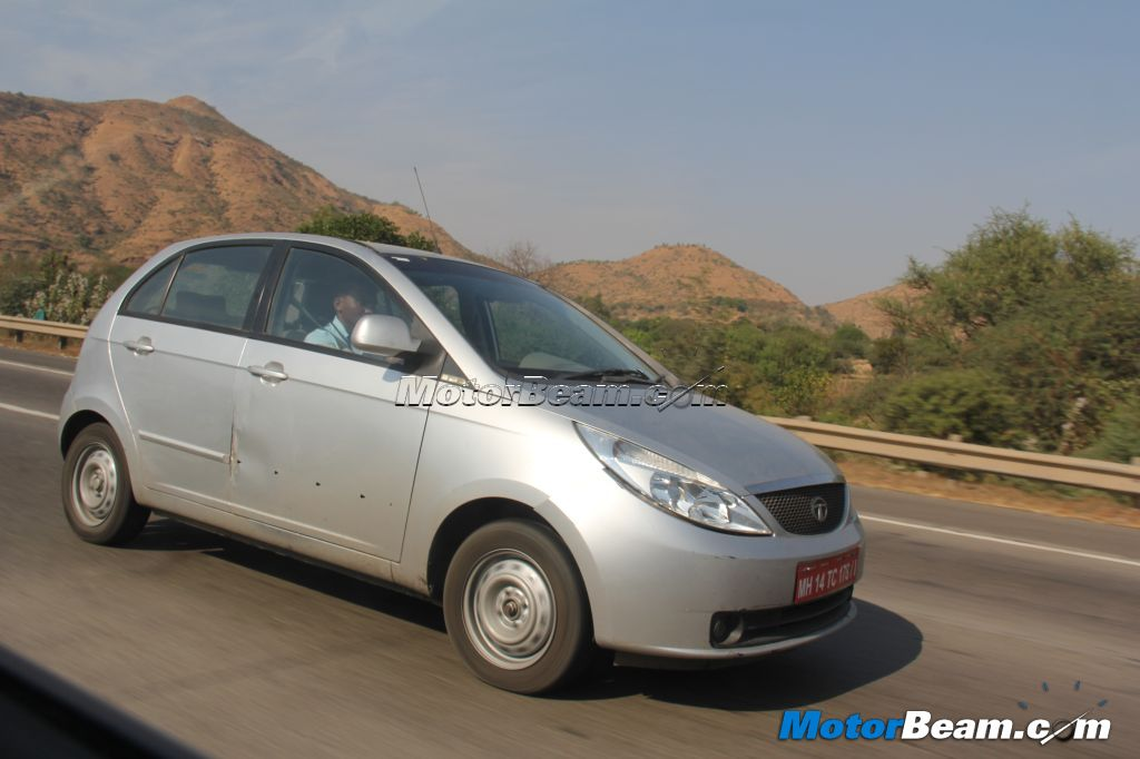Tata Indica Vista Spy side