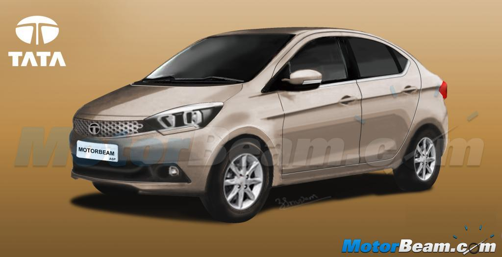 Tata Kite 5 Sedan Rendering