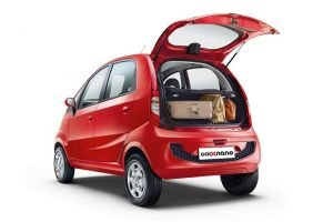 Tata Nano Boot Space