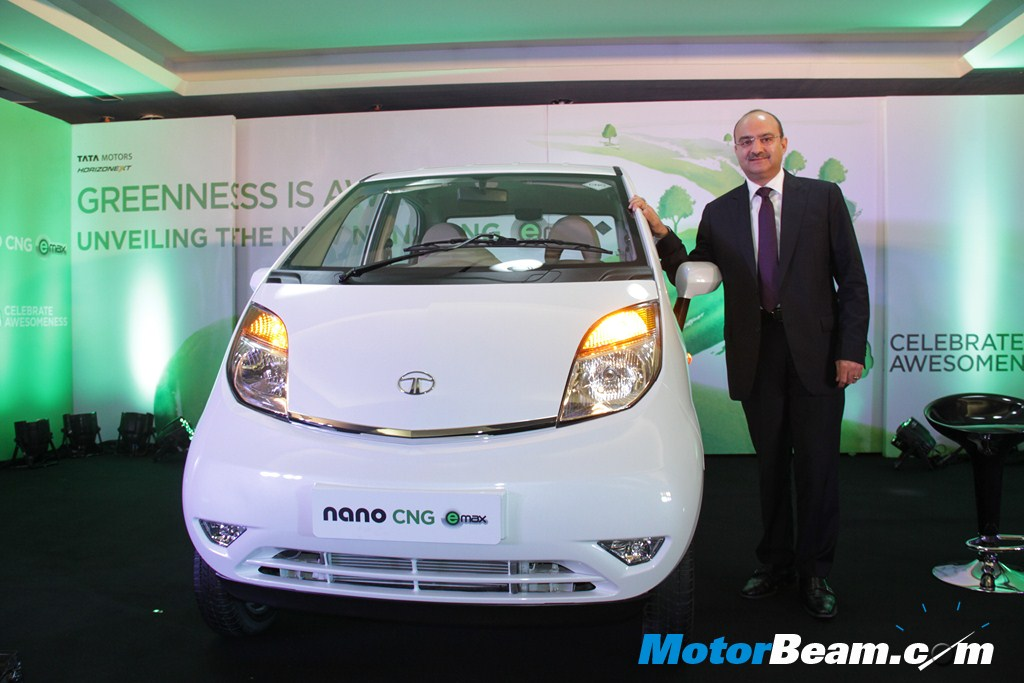 Tata Nano CNG emax Launch