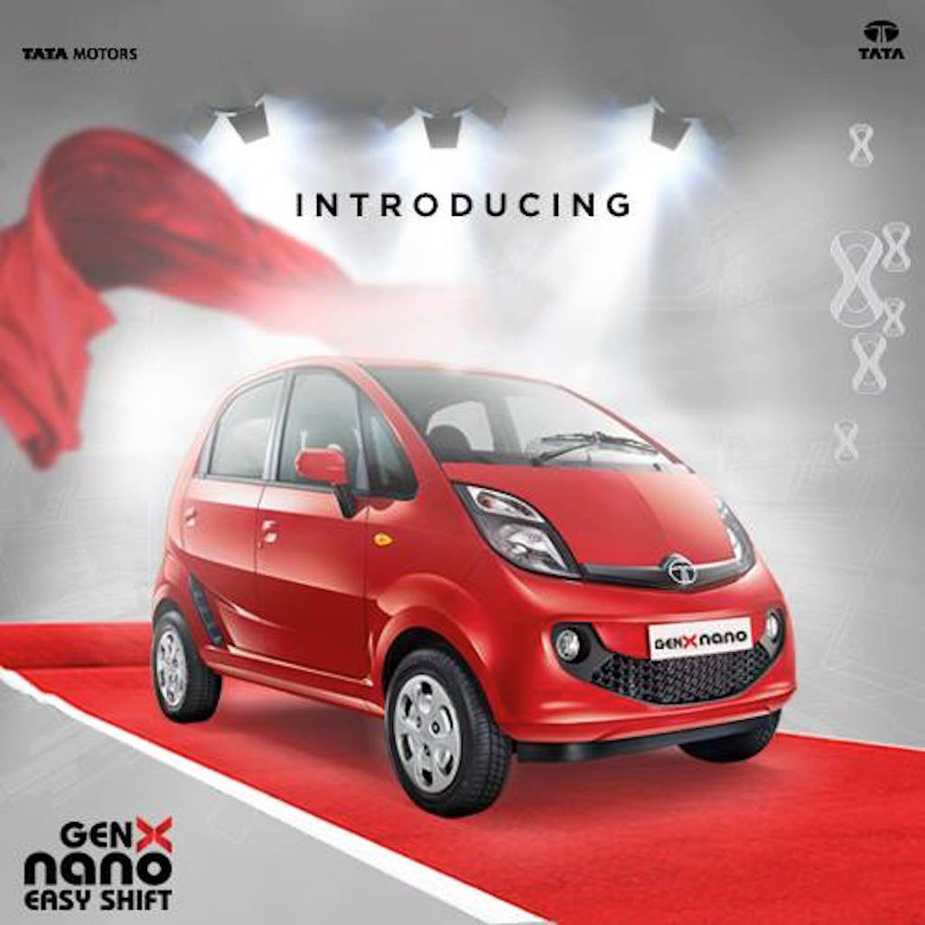 new car launches may 2015Tata Unveils 2015 GenX Nano Easy Shift Launch In May 2015
