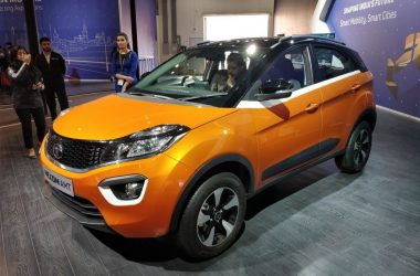 Tata Nexon AMT Unveiled At 2018 Auto Expo, Launch Soon