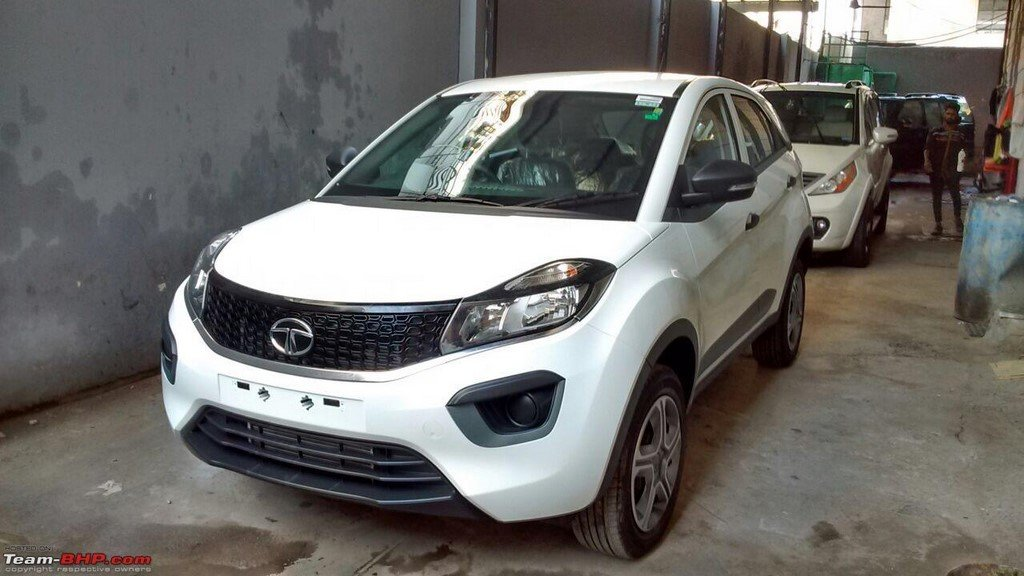 Tata Nexon XM Front Spotted
