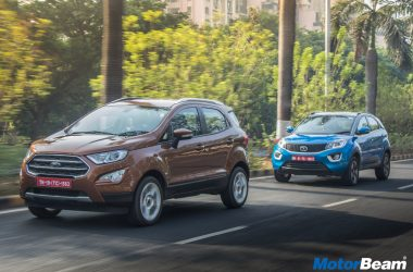 Tata Nexon vs Ford EcoSport - Shootout