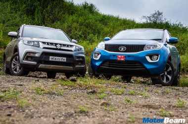 Tata Nexon vs Maruti Vitara Brezza – Video Comparison