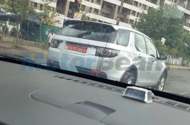 Tata Q501 With Land Rover Body Spotted Again