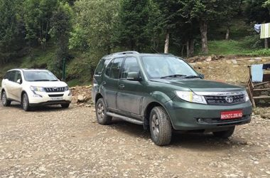 Tata Safari Storme 1.99-Litre Spied Testing, Gets New Colour