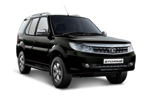 Tata Safari Storme Black