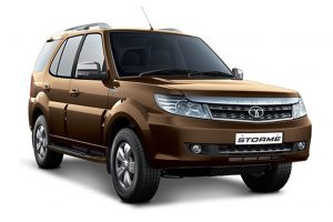 Tata Safari Storme Brown