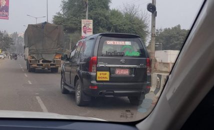 Tata Safari Storme Spotted