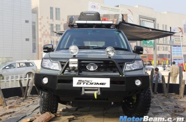 Tata Safari Storme Tuff Is Overloaded With Accessories [Video]