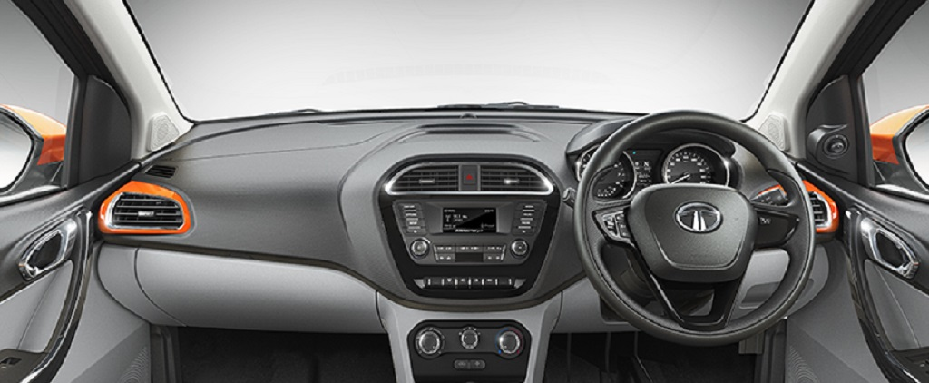Tata Tiago Electric Dashboard