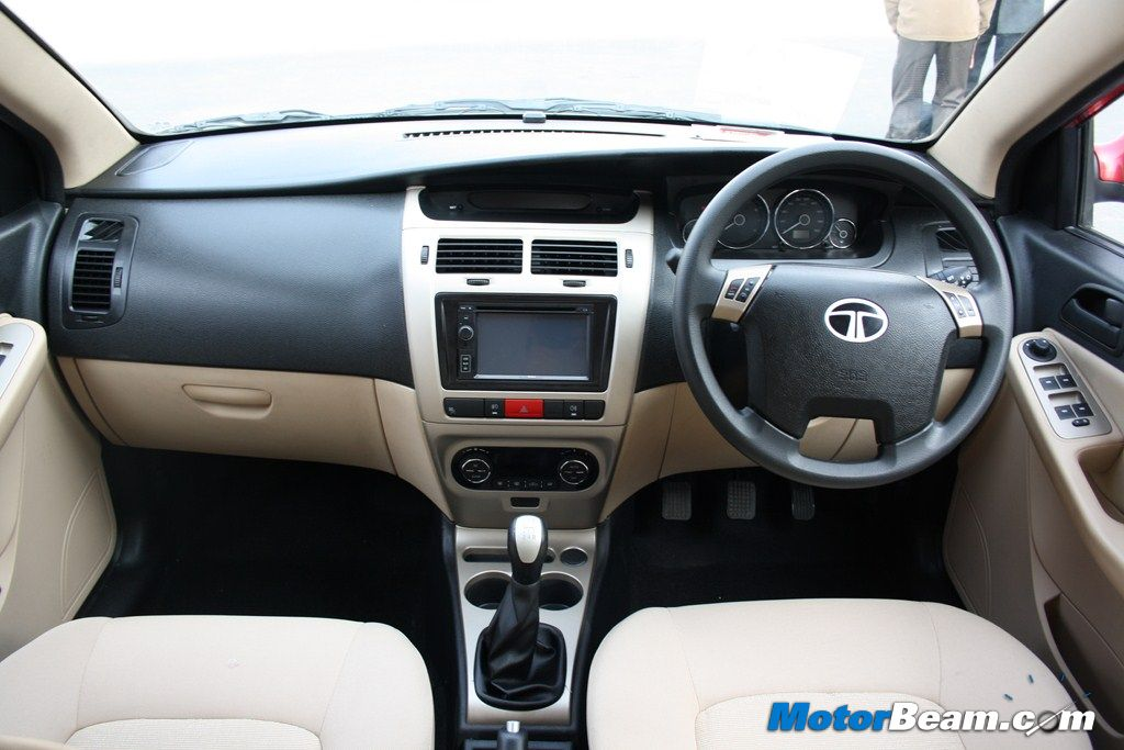 Tata Vista D90 Interiors