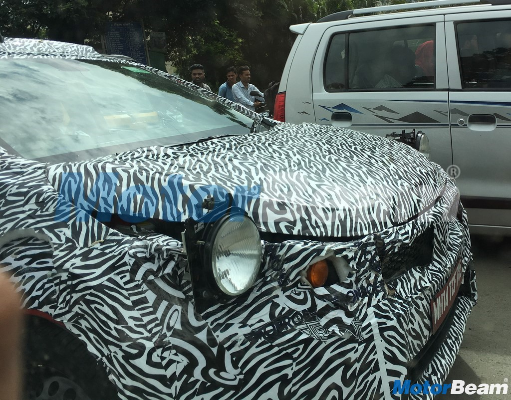 Tata X451 Front Spied