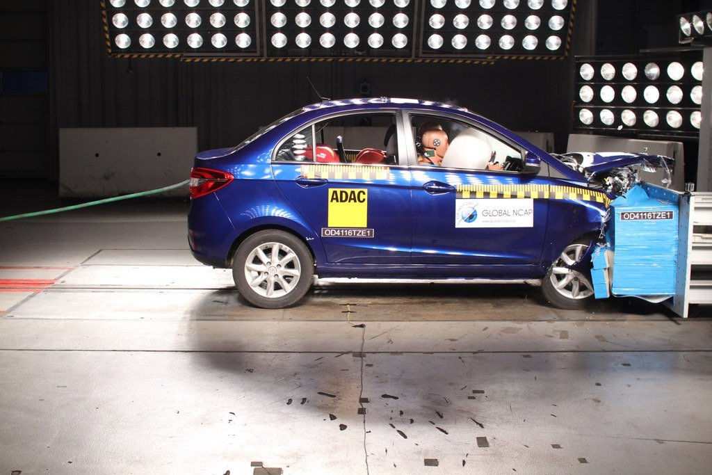 Tata Zest Crash Test Rating