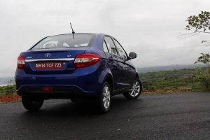 Tata Zest Rear View
