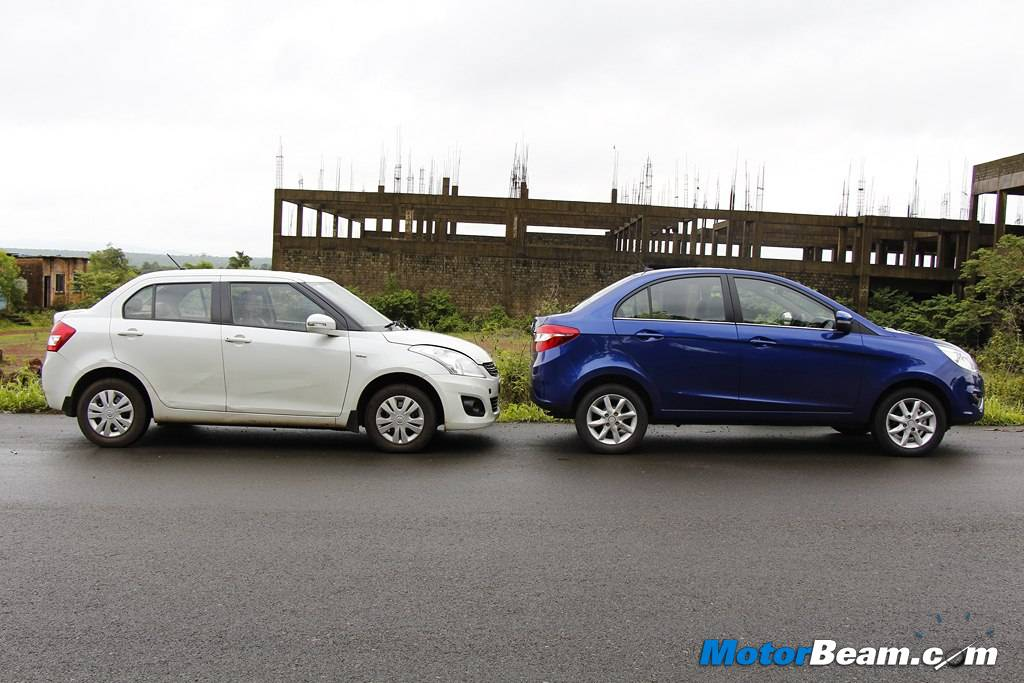 Tata Zest vs Maruti DZire Comparison