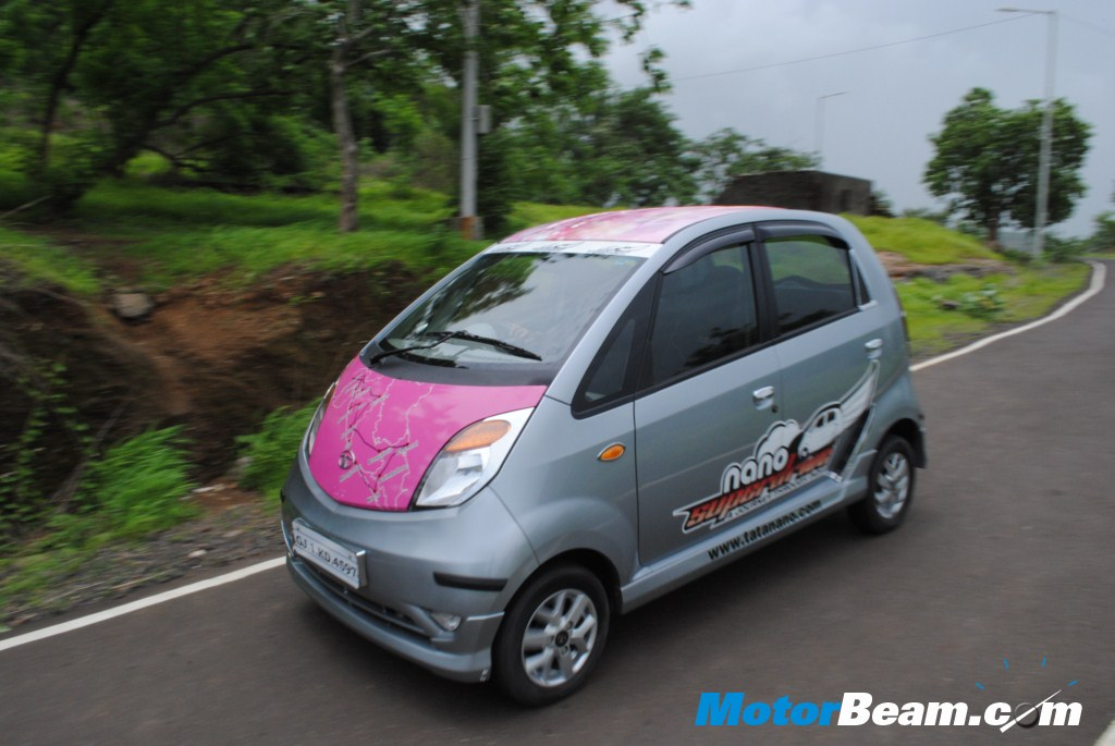 Tata Nano On The Move