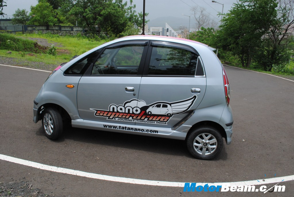Tata Nano Side Profile