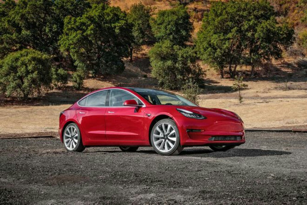 Tesla Model 3 Front Three Quarter